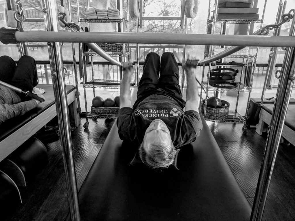 performance pilates session men