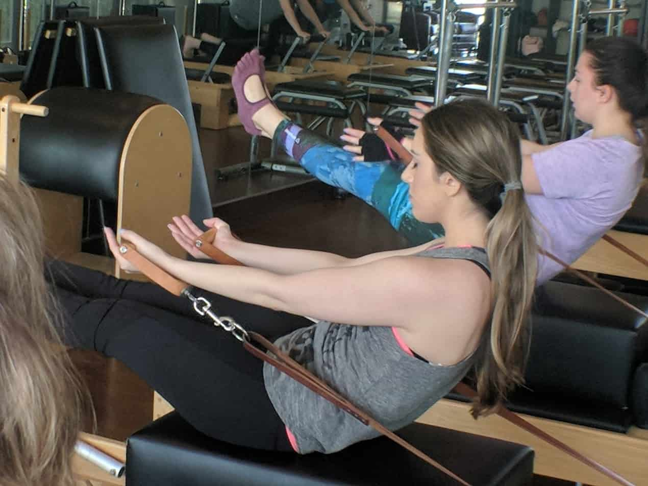performance pilates group session
