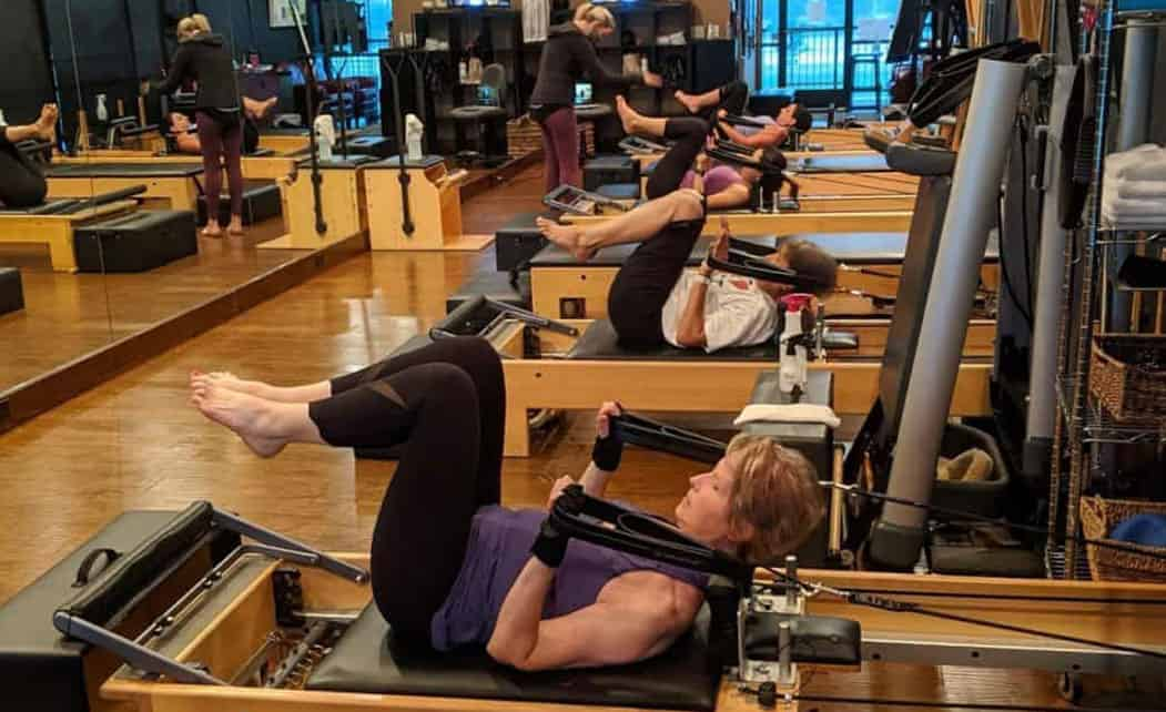 performance pilates machines group session