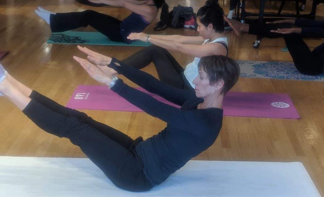 performance pilates mat group session
