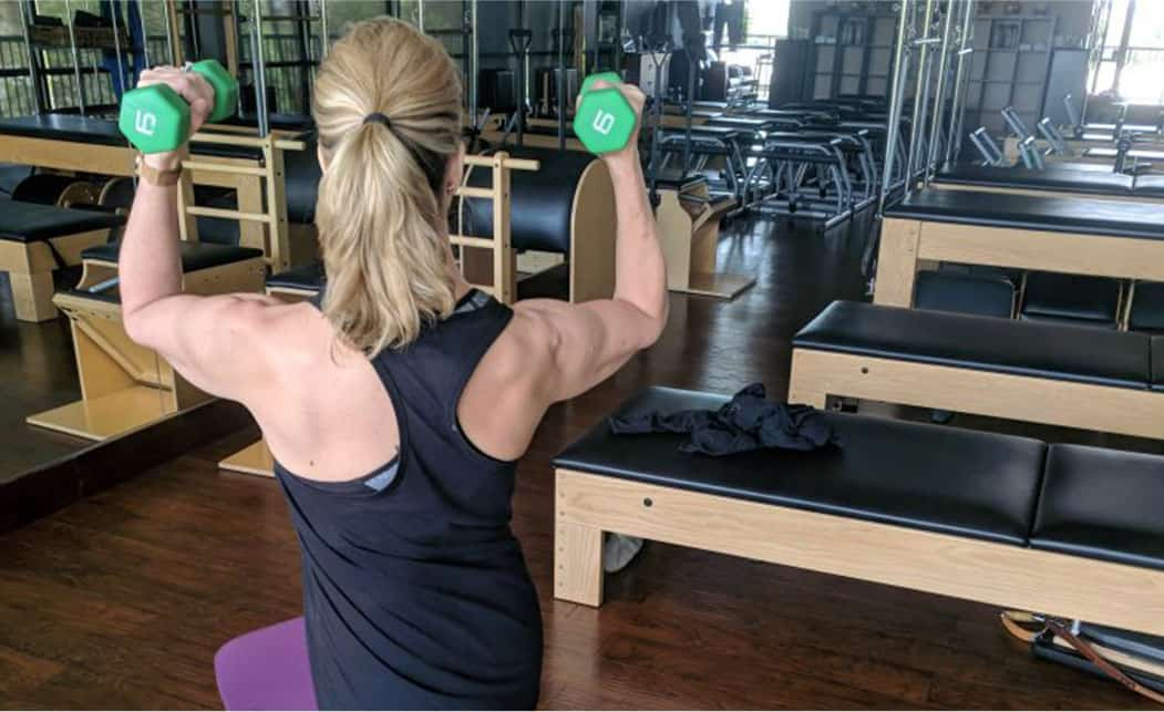 performance pilates private session weights