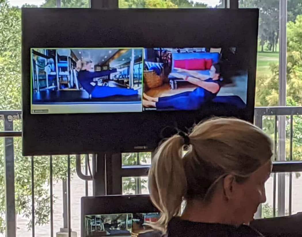 performance pilates virtual session
