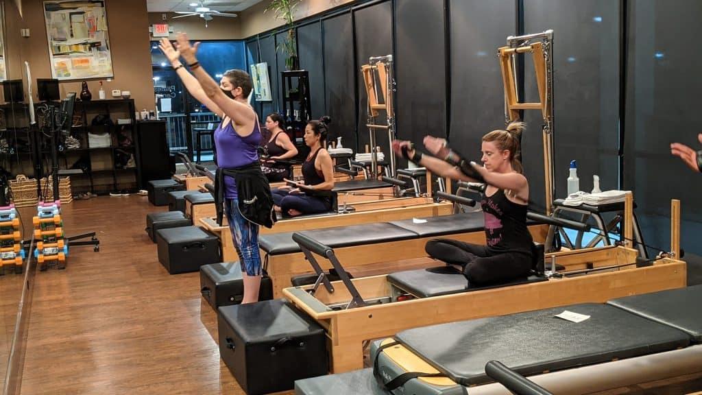 performance pilates group
